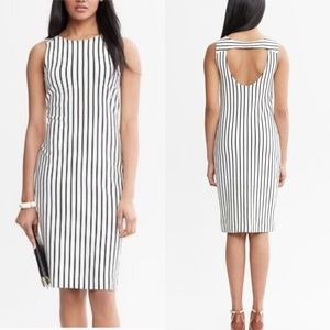 Banana Republic Madmen Verticle Striped Dress